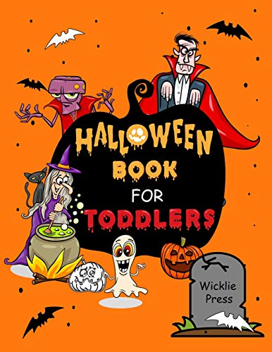 Toddlers: Halloween Activity Book For Kids (Halloween Coloring Book, Band 1) ()