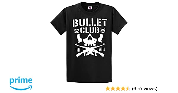 2a359688b Graphic Impact Inspired New Bullet Club UFC Fight Japan Wrestling T Shirt   Amazon.co.uk  Clothing