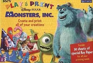Disney Pixar Monsters, INC. Play & Print