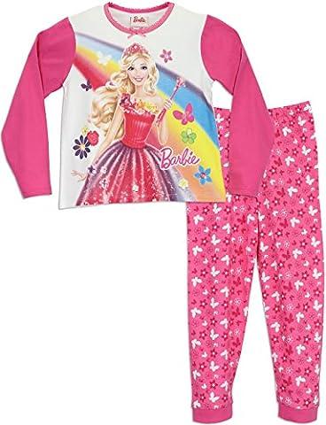 Barbie - Ensemble De Pyjamas - Barbie - Fille - 5 a 6 Ans