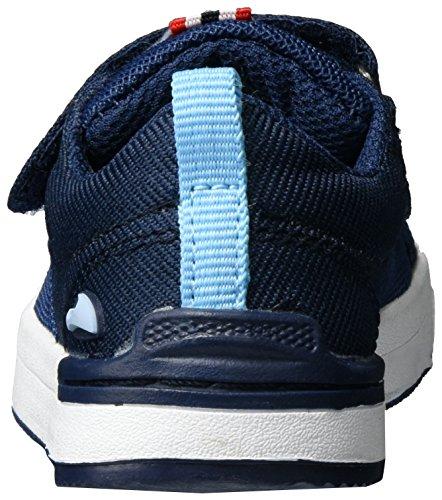 Viking Frogner Kids, Chaussures Multisport Outdoor mixte enfant Blau (Navy/White)
