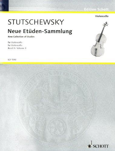 Neue Études Sammlung 3 Vcl.