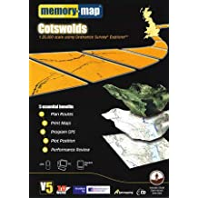 Memory-Map V5 Cotswolds OS 1:25,000
