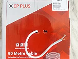 CP Plus 100% Pure Copper Coaxial Cable 90 meters