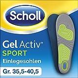 Scholl GelActiv Einlegesohlen Sport, Größe 35,5-40,5, 1 Paar