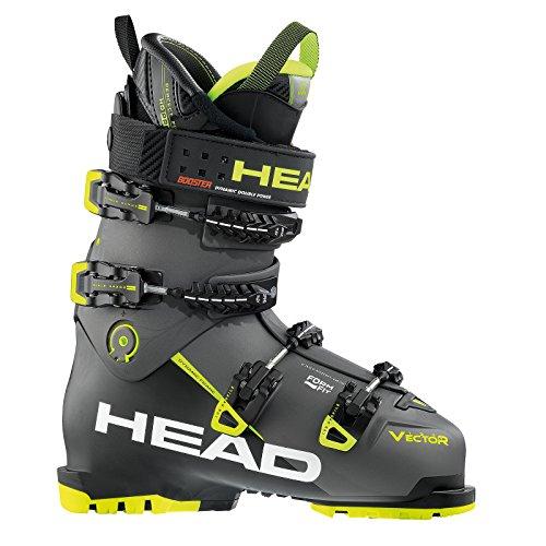 HEAD Herren Skischuhe Vector Evo 130 S Grau/Schwarz (719) 28,5 (Racing Herren-ski-stiefel)