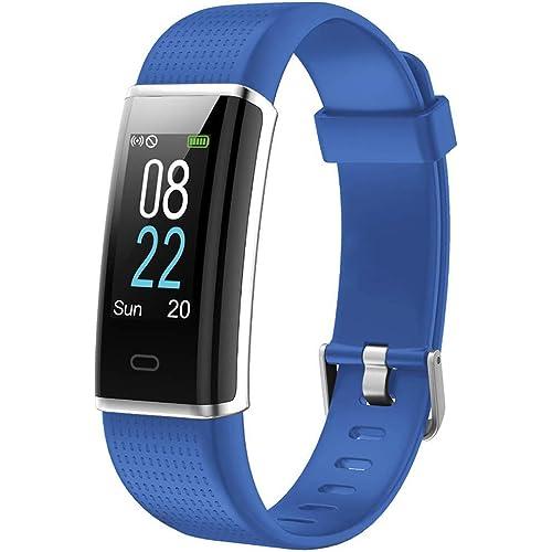 Willful Orologio Fitness Uomo Donna Smartwatch Fitness Tracker Cardiofrequenzimetro da polso Contapassi Calorie Sonno Orologio Sportivo Impermeabile IP68 WhatsAPP Notifiche per Android iOS Telefone