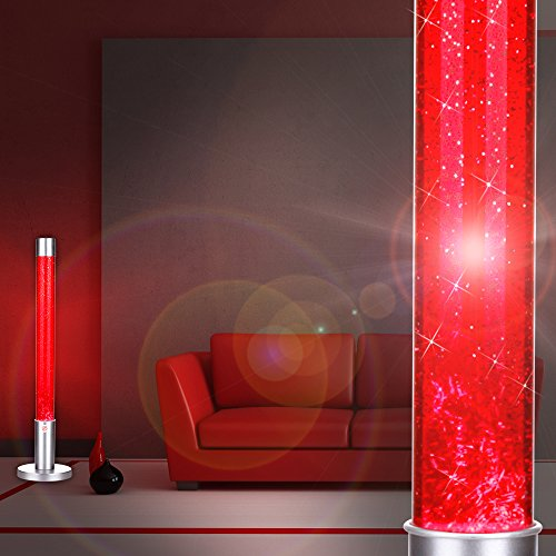 MIA Light Glitter ↥760mm/Retro/Rot/Leuchte Glitterlampe Glitterleuchte Lavalampe Lavaleuchte Magmalampe Magmaleuchte