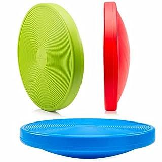 Balance-Board Durchmesser 40cm & Höhe 10cm Kreisel für Physiosport / Physiotherapie - Wackelbrett trainiert / stärkt das Körpergleichgewicht - Therapiekreisel / Koordinations Board »Orbital« blau