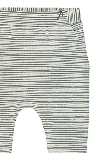 Noppies U Pants jrsy Slim Tampa str, Pantalones Unisex bebé, Verde (Grey Mint C175), 62