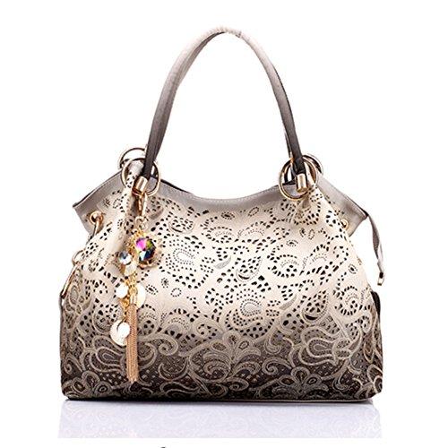 Bolsos de cuero del dise ador de las mujeres de calidad de la manera del hombro del estilo de la celebridad Cross Body Bag