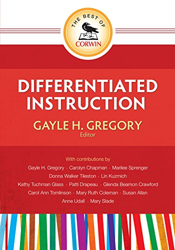 Gayle H Gregorys The Best Of Corwin Differentiated Instruction