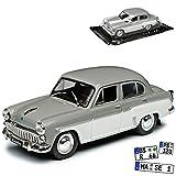 Unbekannt Moskwitsch 407 Limousine Grau Weiss 1958-1963 1/43 Modellcarsonline Modell Auto mit...