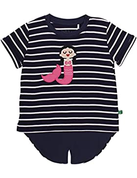Fred's World by Green Cotton Mädchen T-Shirt Sailor Front T Girl