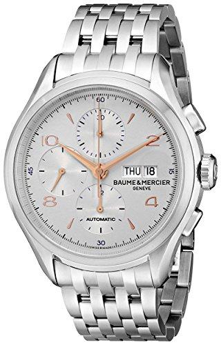 Baume & Mercier Clifton Reloj de hombre automático 43mm correa de acero 10130