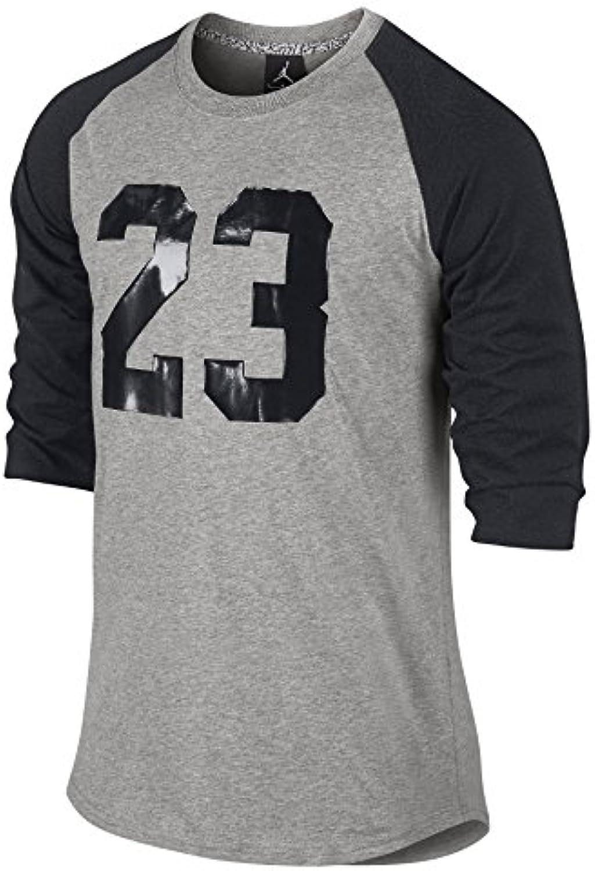 Jordan Nike 3/4 Raglan 23 Jumpman Camisa para hombre