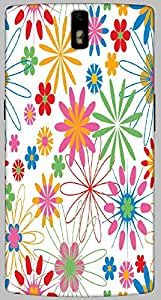 Timpax protective Armor Hard Bumper Back Case Cover. Multicolor printed on 3 Dimensional case with latest & finest graphic design art. Compatible with only One Plus One. Design No :TDZ-21498
