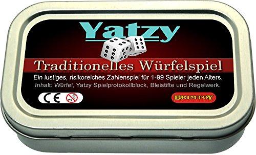 Yatzy Würfelspiel Reisespiel