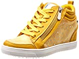 XTI 49019, Zapatillas Altas para Mujer, Amarillo, 37 EU