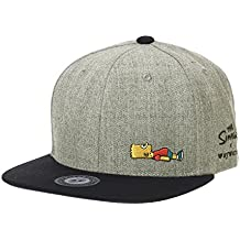 WITHMOONS Cappellini da baseball Cappello The Simpsons Baseball Cap Bart  Simpson Snapback Hat HL2965 18a08b38bb5f