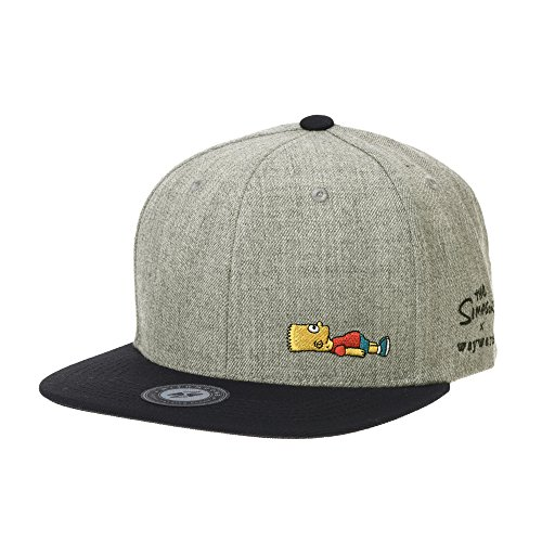 WITHMOONS Baseballmütze Mützen Caps The Simpsons Baseball Cap Bart Simpson Snapback...