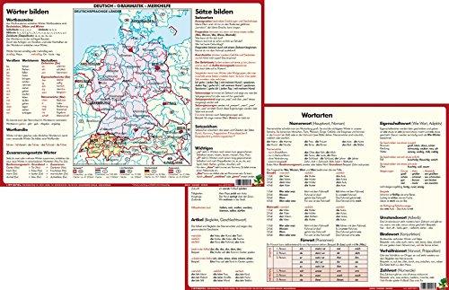 Deutsch-Grammatik-Merkhilfe - DUO-Schreibunterlage klein