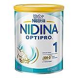 Nestlé NIDINA 1 Optipro dalla Nascita Latte per Lattanti Polvere, 800 g