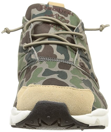 Reebok Furylite Camo, Herren Sneaker cement-silverygreen-sage