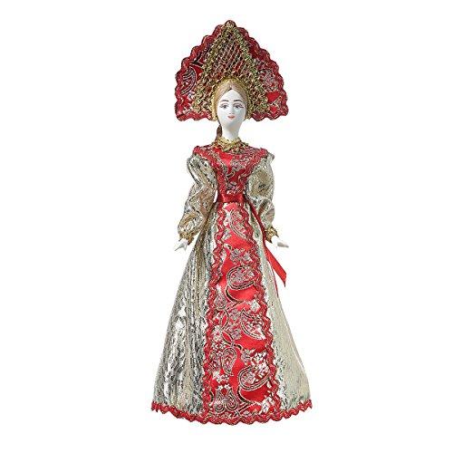 danila-souvenirs Russische Handgemachte Porzellan Traditionelle Volkskostüm Puppe 31 -