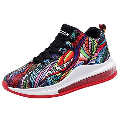 Scarpe da Basket con Assorbimento degli Urti Sneakers alla Moda con Salto in Alto Scarpe da Fitness Uomo in Ferro Scarpe Casual Scarpe Tecniche da Corsa Scarpe Running Professionali