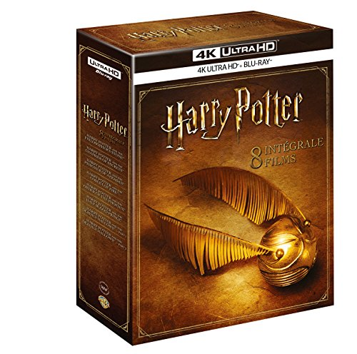 Intégrale Harry Potter 8 Films - Blu-Ray 4K ultra HD + Blu-Ray [4K Ultra HD + Blu-ray]