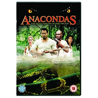 Anacondas - The Hunt For The Blood Orchid [DVD]