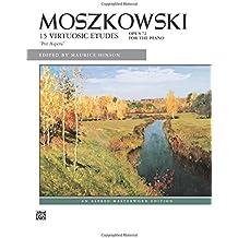 """Moszkowski 15 Virtuosic Etudes, Opus 72 For the Piano: """"Per Aspera"""""""