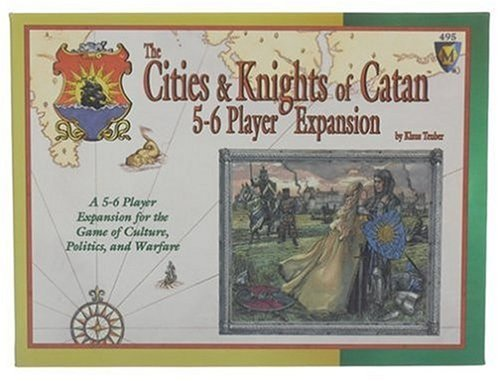 Settlers of Catan: Cities and Knights 5&6 Player [englischsprachige Version]