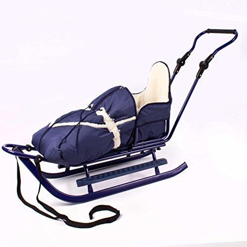 Luxus Schlitten mit umfangreichem Zubehör, NEU (silber-blau) -