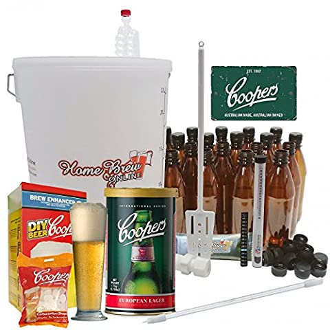 Home Brew Online Complete Starter Kit - With Coopers European Lager