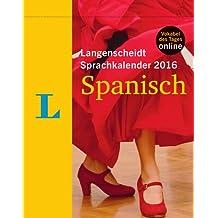 Langenscheidt Sprachkalender 2016 Spanisch - Abreißkalender