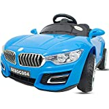 Baybee BWM Battery Operated Ride On Car For Kids/ Ride On Car For Kids Electric Car For Kids With Music, Horn, Headlights With 25Kg Weight Capacity Kids Car/ Children Car / Kids Cars To Drive / Baby Car / Electric Car For Kids- Blue