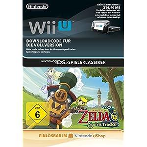 The Legend of Zelda: Spirit Tracks [Wii U Download Code]