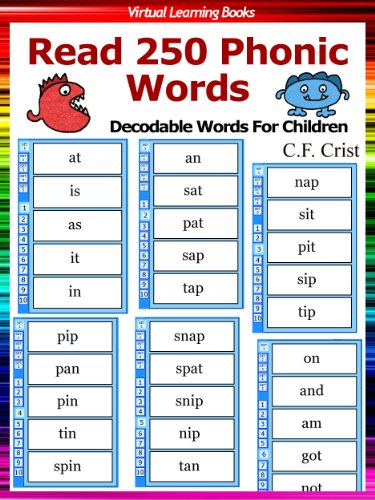 Flash Cards: Read 250 Phonic Words: Set 1 (Decodable Words ...
