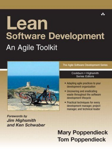 Lean Software Development: An Agile Toolkit by Poppendieck, Mary, Poppendieck, Tom 1st (first) Edition (2003)