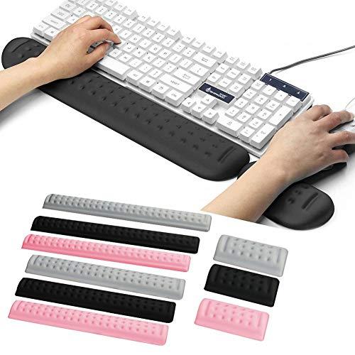 Handgelenkstütze für Tastatur und Maus Handballenauflage mit Memory-Schaum ergonomisch