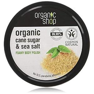 Organic Shop Caña de Azúcar Exfoliante Corporal Espumoso – 250 ml