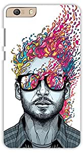 crazy Beta 3D MAN DESIGN Printed Back Cover For Micromax Knight 2 E471