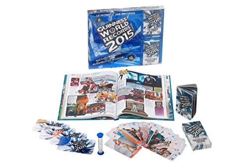 Coffret Guinness World Records 2015 : Coffret livre + boîte à quiz