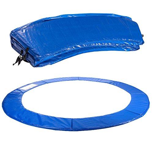 Kinetic Sports Trampolin Randabdeckung Federabdeckung für Trampoline mit Ø ca. 430 cm UV-beständig Randpolsterung Randschutz Sicherheit