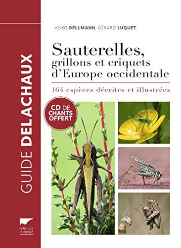 Sauterelles, grillons et criquets d'Europe occidentale