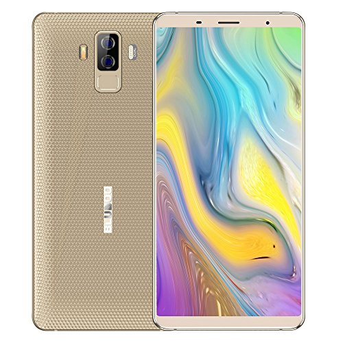 BLUBOO S3 4G Teléfono Móvil 8500mAh NFC 6.0' Pantalla 1080 * 2160P FHD + 18: 9 Cámara Trasera 21MP + 5MP MTK6750T...