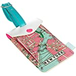 New York City 'New York, New York' Luggage Tag by Wild and Wolf – The Metropolitan Range