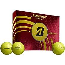 BRIDGESTONE Golfball Tour B 330-RX Optic - Bolas de golf, color amarillo, talla M